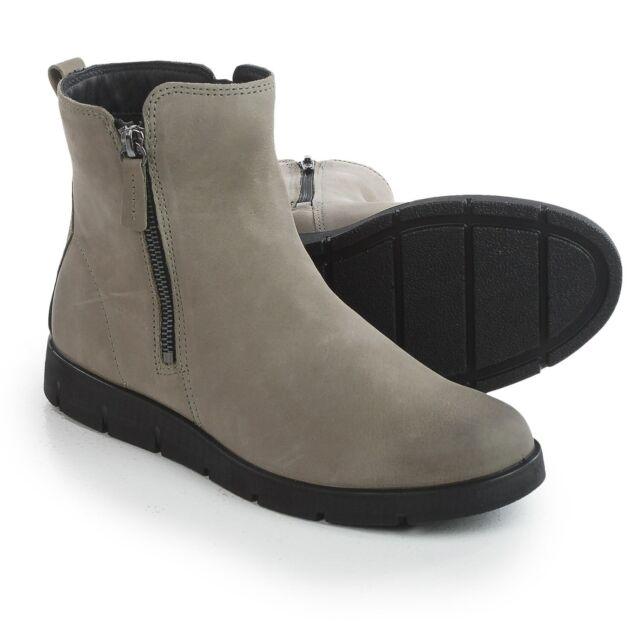 New Women`s ECCO Bella Zip Ankle Boots Low Cut 282013 MSRP$160