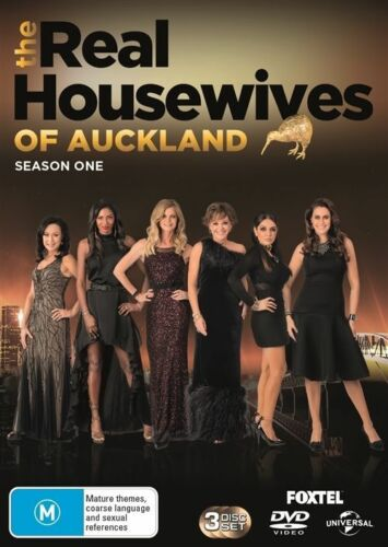 1 of 1 - The Real Housewives Of Auckland: Season 1 (DVD, 2017, 3-Disc Set), NEW SEALED R4
