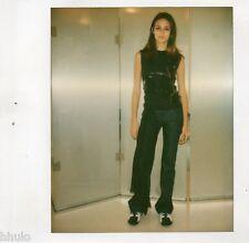 POL405 Polaroid Photo Vintage Original mode fashion mannequin model femme woman