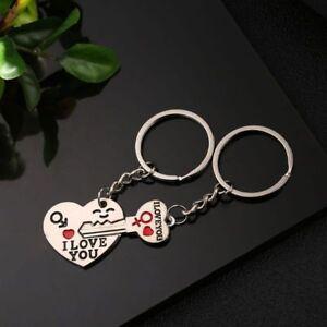 Love Key Creative Couple keychain Jewelry Gifts for Boyfriend Girlfriend New