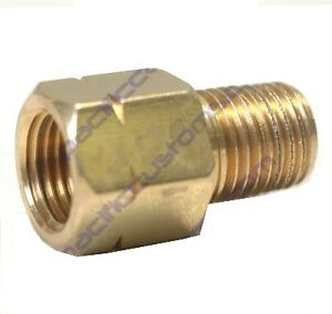 Fitting 1 8 Npt Male To 10mm 1 0 Female Metric Bubble
