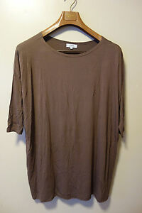 2c37387dd6e PIKO D219443 Authentic Bamboo 3 4 Sleeve Boat Neck Oversized Top ...