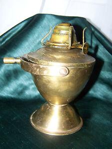 Vintage Or Antique P & A Heavy Brass Yacht Lantern