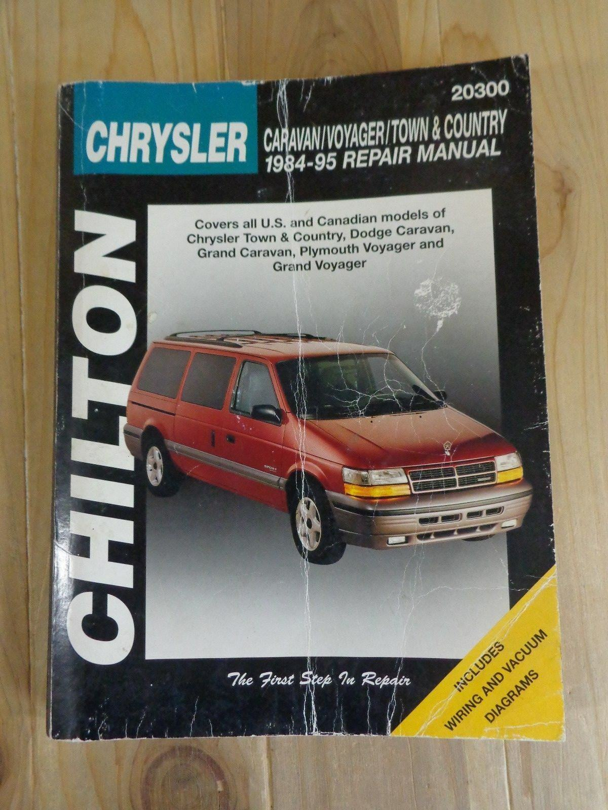 chilton repair manual 20300 chrysler caravan voyager town country rh ebay com Chrysler Grand Voyager Review New Chrysler Grand Voyager