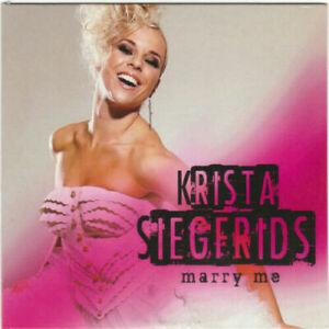 2021 Eurovision - Finland 2013. Marry Me - Krista Siegfrids. ( Promo CD Single )