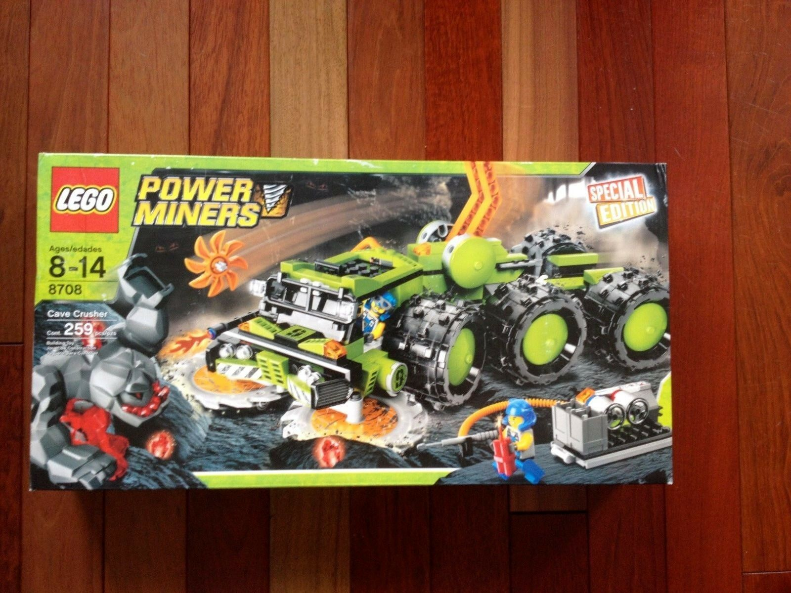 LEGO Power Miners Exclusive Limited Limited Limited Edition Set Cave Crusher 88174e