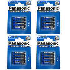 AAA Batteries 12 Pack Panasonic Heavy Duty For Toy Camera Torch Remote