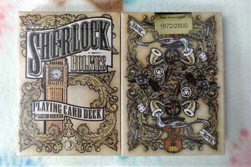 1 deck Sherlock Holmes-Baker Street edition limited have dent S1032273445-乙H2