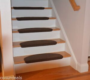 Image Is Loading Affordable Bullnose Stair Treads Carpet Non Skid Strip