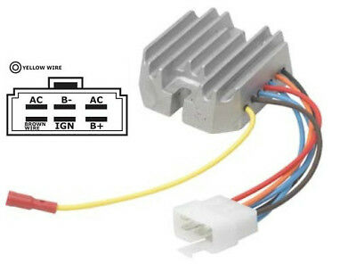 Gleichrichter für Kokusan Denki Komatsu RM119640-77711