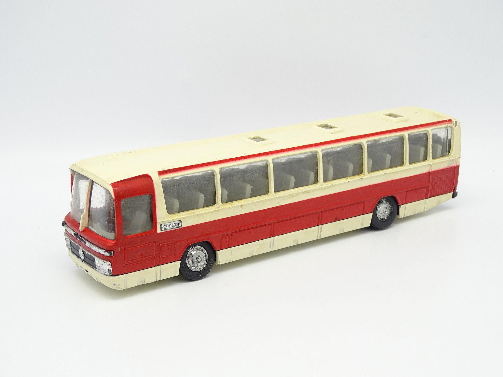 Schuco 1 66 - Mercedes Omnibus O303 Bus Carcar rot et Weiß