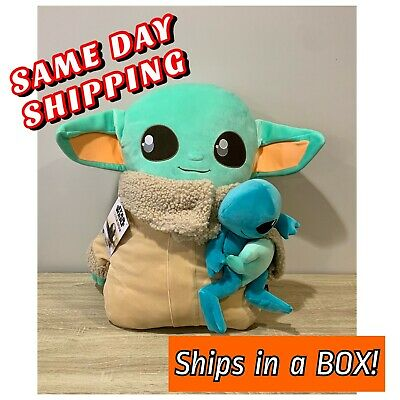 "STAR WARS Mandalorian The Child Ginormous Baby Yoda Pillow Pal 24/"" SHIPS TODAY!"