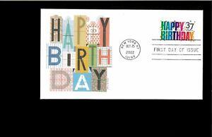 2002-First-day-Cover-Happy-Birthday-New-York-NY
