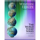 Western Europe: 2016-2017 by Wayne C. Thompson (Paperback, 2016)
