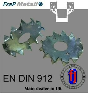 TRADE PRICES  DOUBLE OR SINGLE SIDED DOG TOOTH TIMBER JOIST BEAM CONNECTORS