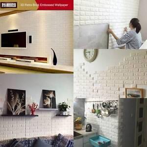 Luxus 3d Effekt Flexibel Stein Ziegel Wand Texturiert Vinyl Tapete
