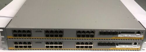 Gigabit Switch *LOT OF 2* Allied Telesyn AT-9924T-EMC2 Advanced Layer 3