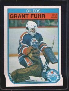 1982 O Pee Chee Grant Fuhr 105 Hockey Card