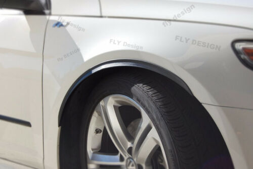 VW Polo Tuning Rims x 2 Wheel Thread Widening Carbon Look Mudguard Trim Set