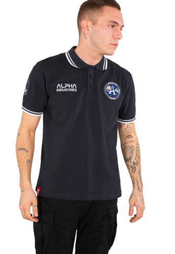 Alpha Industries señores camiseta polo Moon Landing