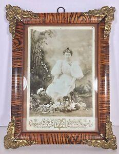 Antique-1800s-Oregon-State-Girl-Class-Photo-Normal-School-Western-University