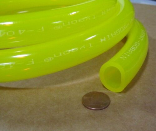 "Tygon Fuel Tubing F4040A  7//8/"" ODx 5//8/"" ID x 1//8/""  Wall x 10 Ft Coil"