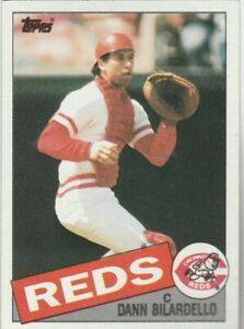 FREE-SHIPPING-MINT-1985-Topps-28-Dann-Bilardello-Reds-PLUS-BONUS-CARDS