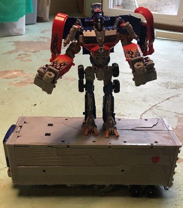 Hasbro Transformers Dark of the Moon Mechtech Ultimate Optimus Prime GREAT