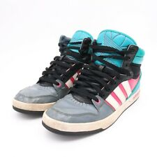 adidas Originals Court Attitude Mens Black Teal Pink Size 11.5 Shoes G99393