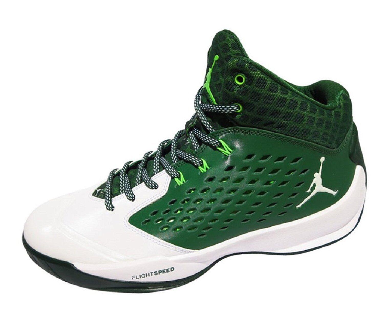Nike Jordan Rising High Men's Basketball shoes - Size 10 (GREEN WHITE)