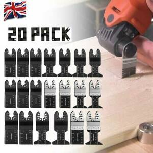 Oscillating Multi Tool Saw Blades Set Carbide Blade Metal For Dewalt Makita UK