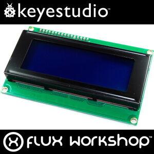 Keyestudio-20x4-blau-LCD-mit-I2C-Schnittstelle-KS-062-2004A-HD44780-Flux-Werkstatt