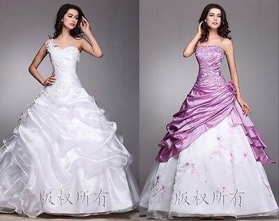 New White Wedding dress Bridal Gown custom size 6-8-10-12-14-16