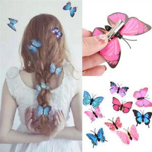 5-PCS-Butterfly-Hair-Clips-Bridal-Hair-Accessories-Wedding-Photography-Costu-EG