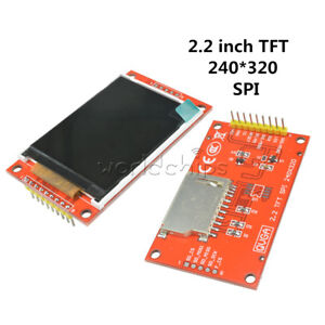 2.2 inch TFT LCD Display Module SPI ILI9341 240x320 for 51//AVR//STM32//ARM Arduino