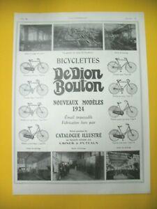 Publicite-de-Prensa-Dion-Boton-Bicicletas-Puteaux-Nuevos-Modelos-1924