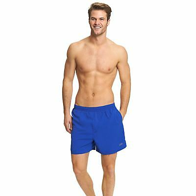 """Zoggs Mens Penrith Shorts Speed Blue 17"""" in Sizes S - XXL with Drawstring Waist"""