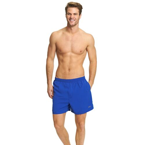 """XXL with Drawstring Waist Zoggs Mens Penrith Shorts Speed Blue 17/"""" in Sizes S"""