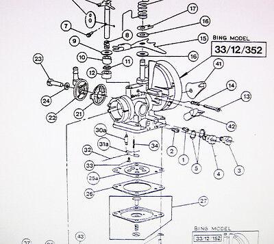 Wacker BS45Y BS52Y BS60Y BS62Y Bing 33 12 388 Carb Rebuild Kit 0037762 EBay