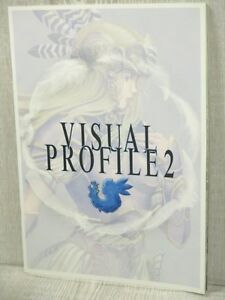 VALKYRIE-PROFILE-Lenneth-Visual-Profile-2-Art-Works-Book-Ltd-Booklet
