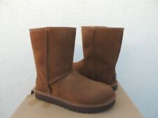 ee32fb6a902 UGG Australia Classic Short Nubuck Espresso Sheepskin Women Boot ...
