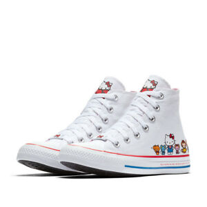 339f3f60322c CONVERSE X HELLO KITTY Chuck Taylor ALL STAR High Top 162944C