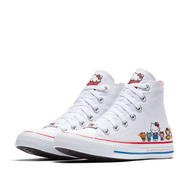 a2a324812 Converse X Hello Kitty Chuck Taylor All Star 162944c Women's Shoe ...