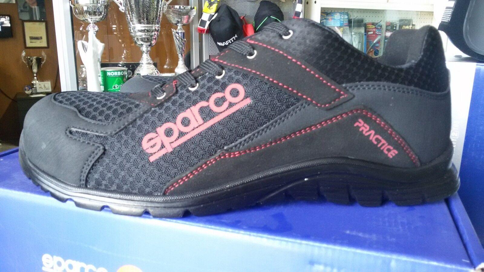 SCARPE SPARCO ANTINFORTUNISTICA PRACTICE ULTRALEGGERA S1P TG 43 43 43 - SAFETY scarpe 41222e