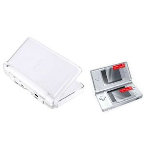 Clear-Hard-Case-Cover-2-LCD-Screen-Protector-Kit-For-Nintendo-DS-Lite-NDSL
