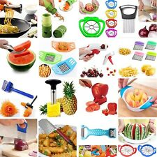 Vegetable Spiral Slicer Potato Fruit Cutter Peeler Chopper Kitchen Gadget Tools