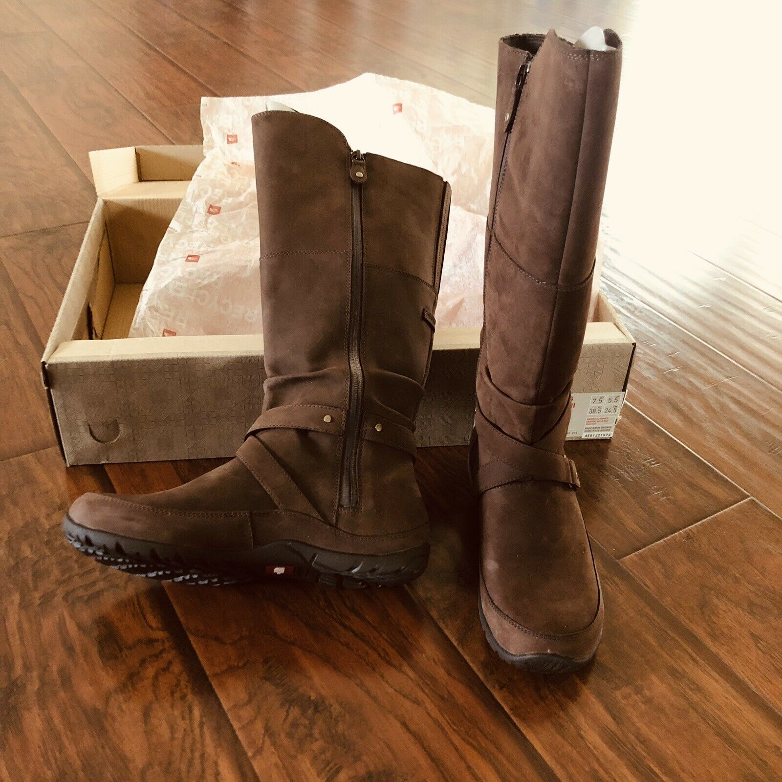 The North Face Womens Camryn II Mid Calf Boots Brown Size 7.5
