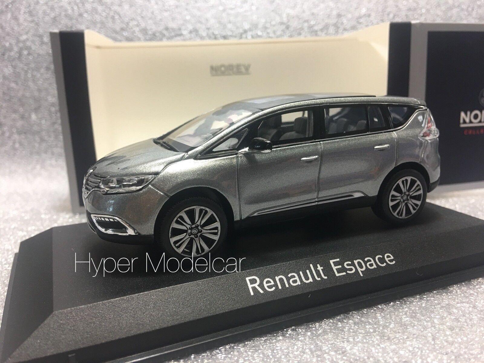 NOREV 1 43 Renault Espace Initiale Paris 2015 Grey Grey Grey Met. Art. 517944 257227