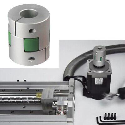 Flexible Coupling D30 L42 Shaft Coupler Servo Motor Connector Inner Diameter 9.5mm x 12.7mm