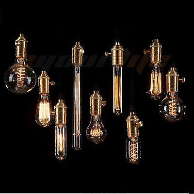40W 60W Filament Light Bulbs Vintage Retro Industrial Style edison Lamp E27 AMNO